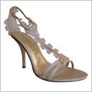 bsatin bridal shoe