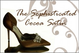 Brown Satin Shoes