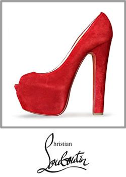 12-christian Louboutin Shameless Red Suede Platform Highness Heels Shoes Heel Shoe Booty 001