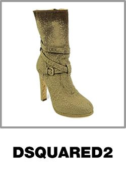 Dsquared2 Brown Mid Calf Boo