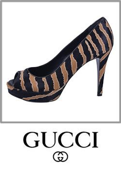 e0aa95001d5 Gucci Animal Print Pony Hair Platfrom High Heel Pump Shoes Boot