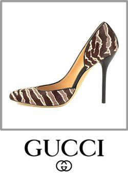 692a64dd877 Gucci Noah Animal Print Pony Hair Leather Dorsay Pumps Pumps Boot